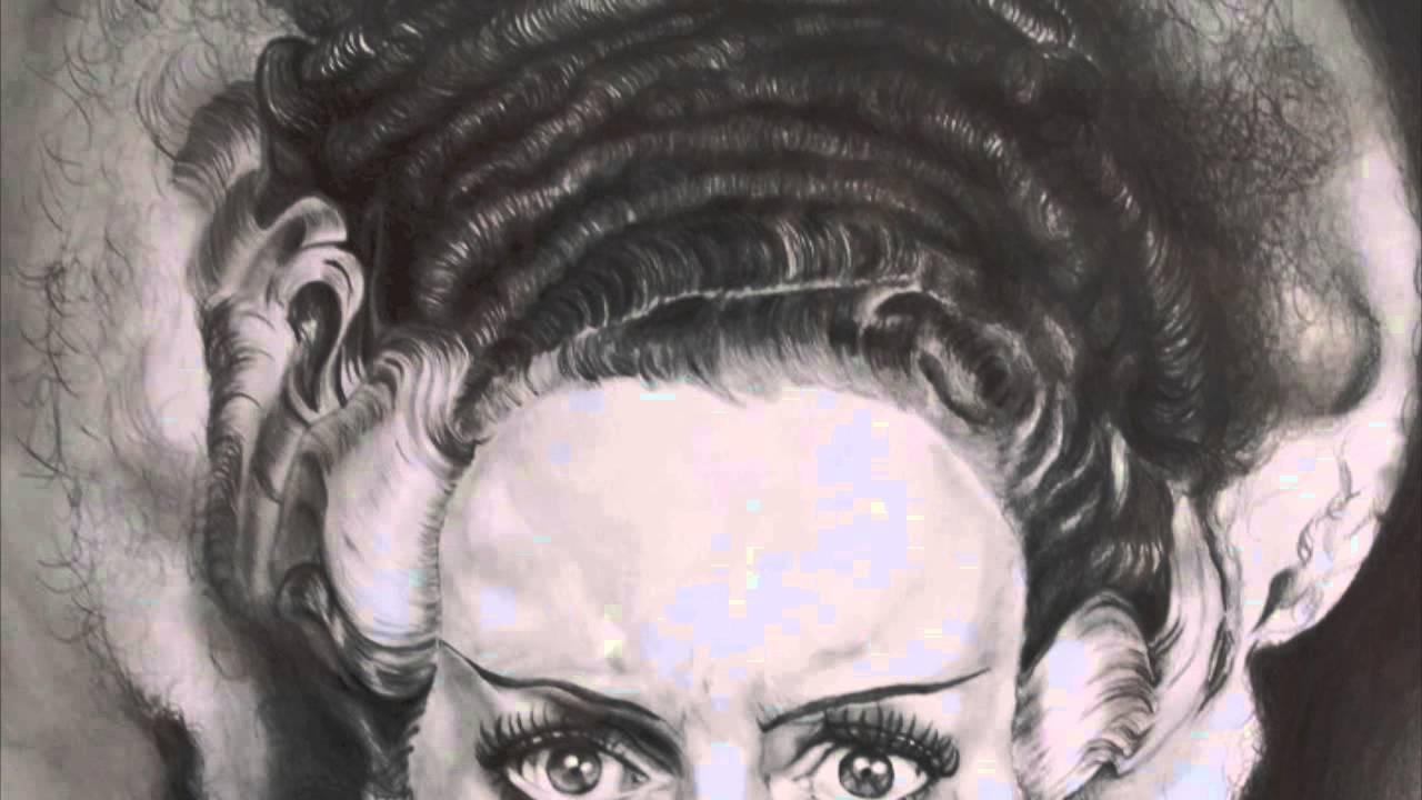 1280x720 Bride Of Frankenstein (Disegno, Drawing)