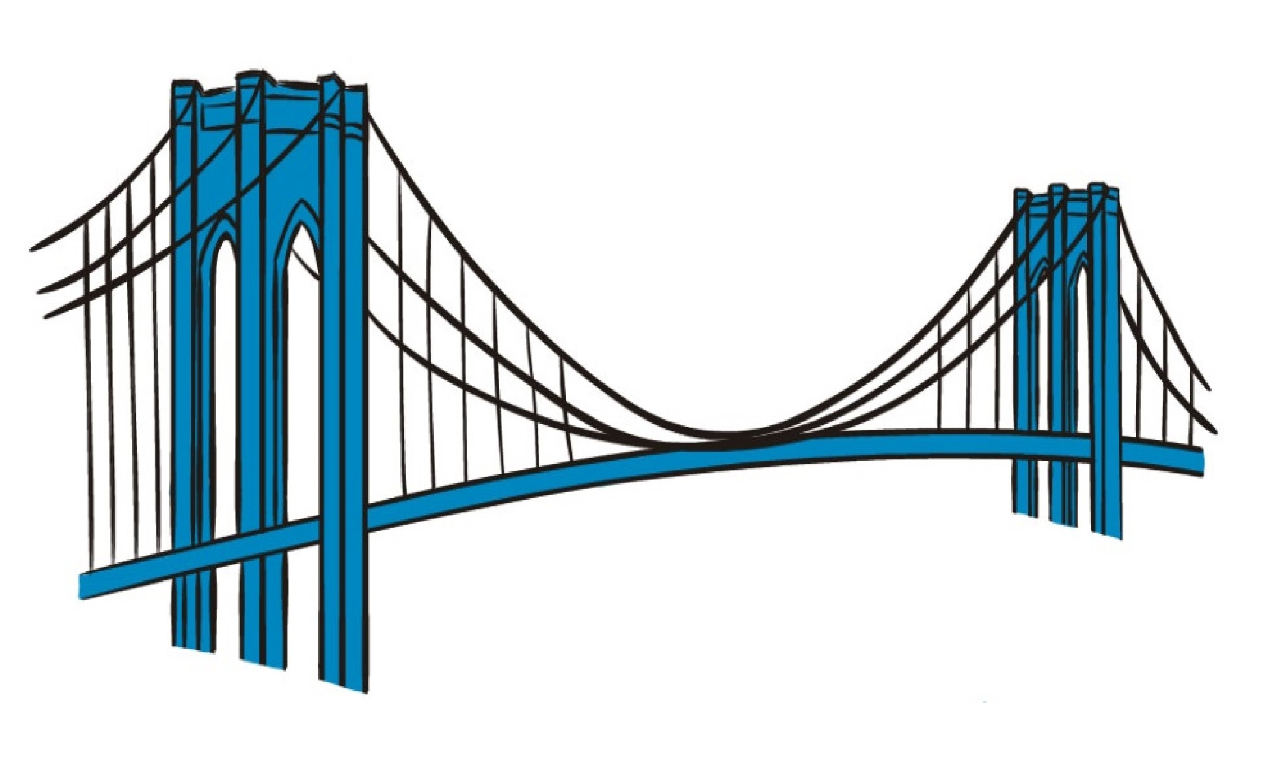 2581x1549 How To Draw A Brooklyn Bridge
