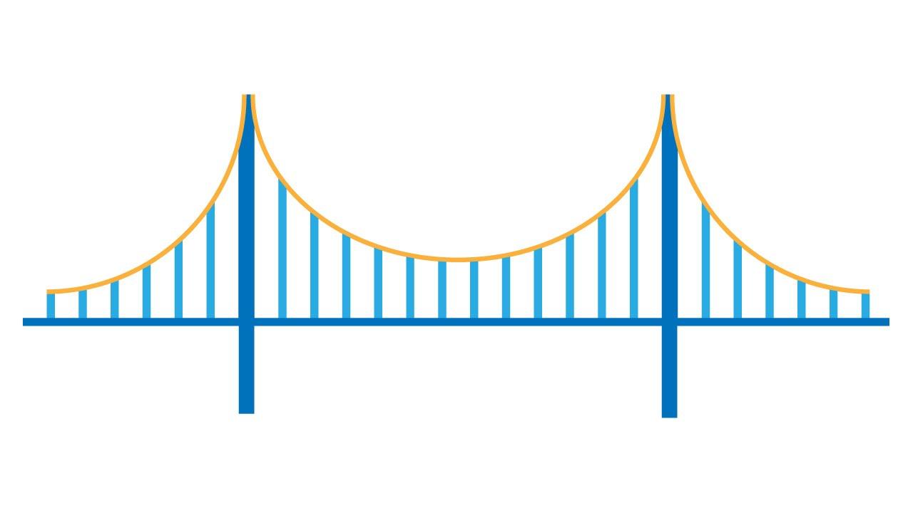 1280x720 Illustrator Tutorial Draw San Francisco Bridge