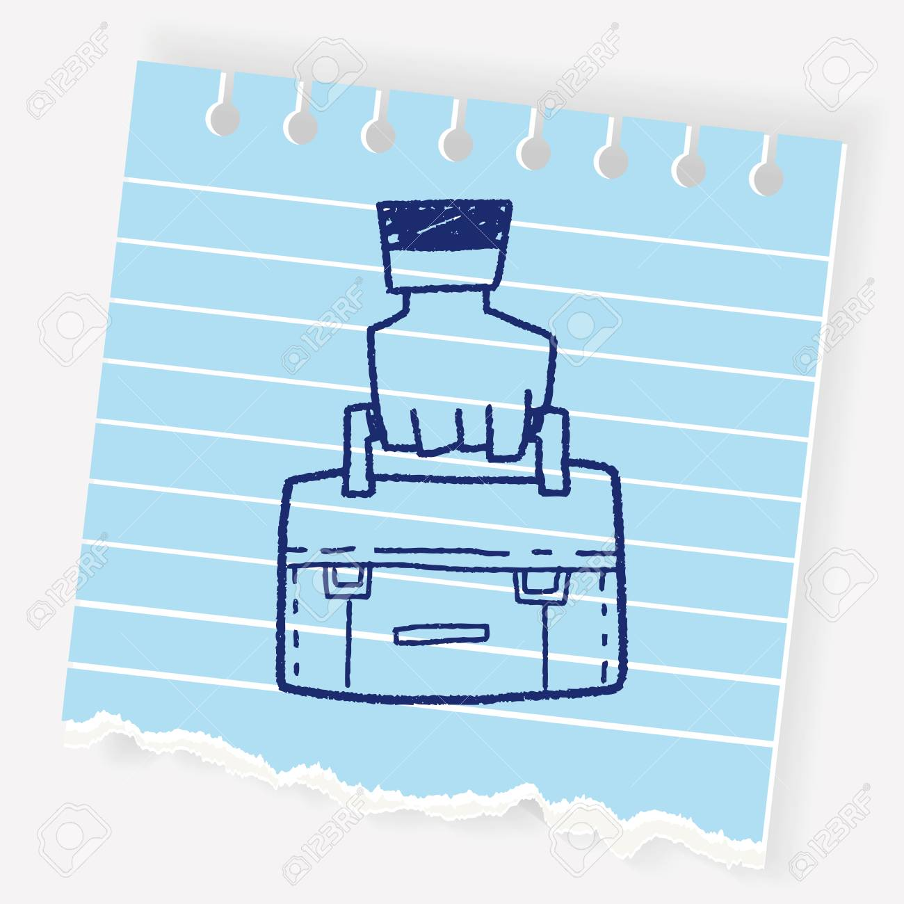 1300x1300 Briefcase Doodle Drawing Royalty Free Cliparts, Vectors, And Stock
