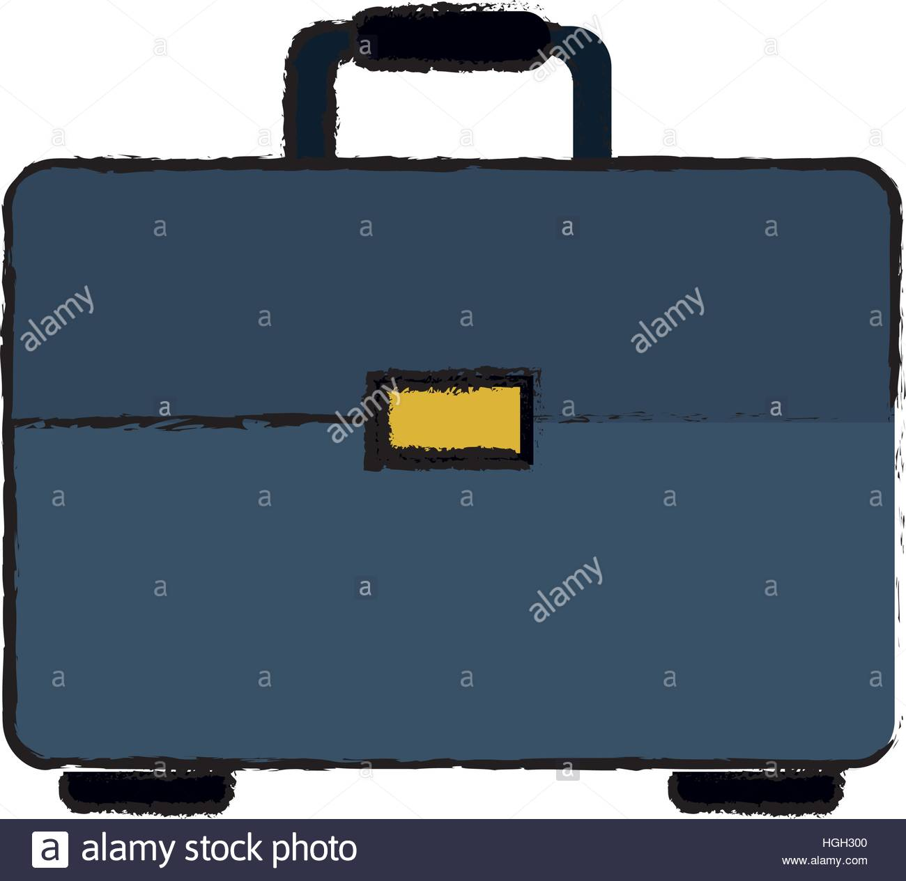 1300x1265 Drawing Portfolio Suitcase Business Document Stock Vector Art