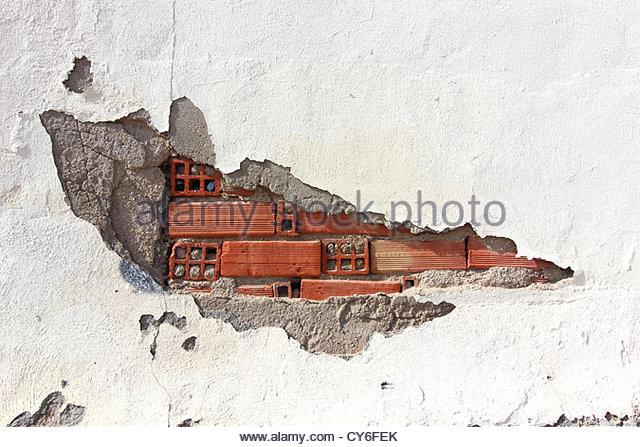 640x447 Old Brick Wall Water Damage Stock Photos Amp Old Brick Wall Water