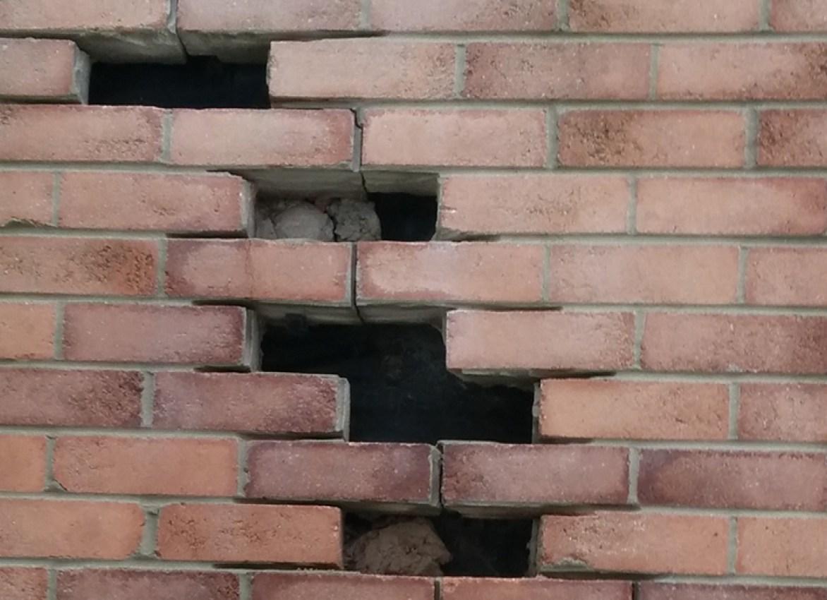 Broken Brick Wall Drawing at GetDrawings com | Free for
