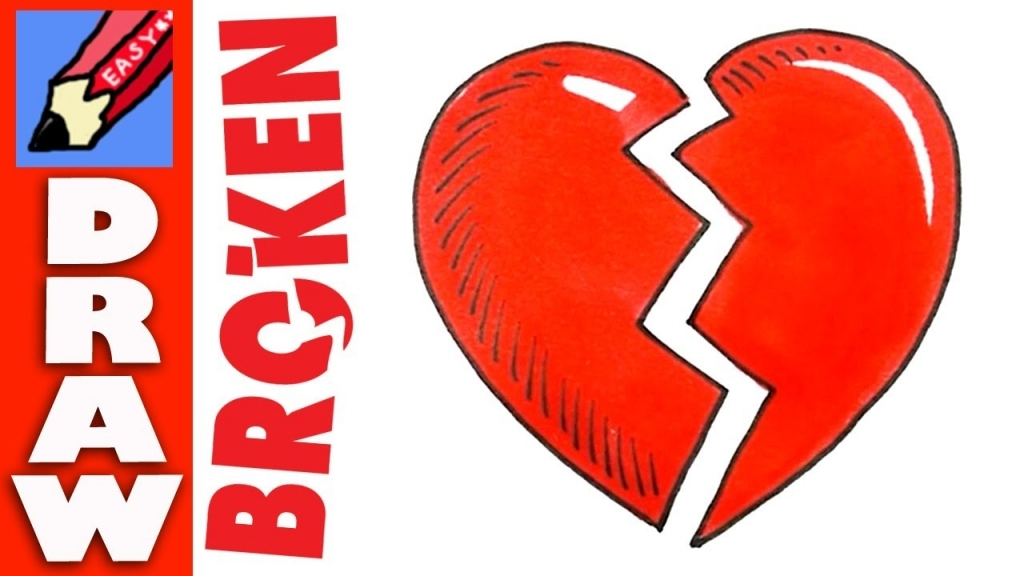 Broken Heart Drawing At Getdrawings Free For Personal Use