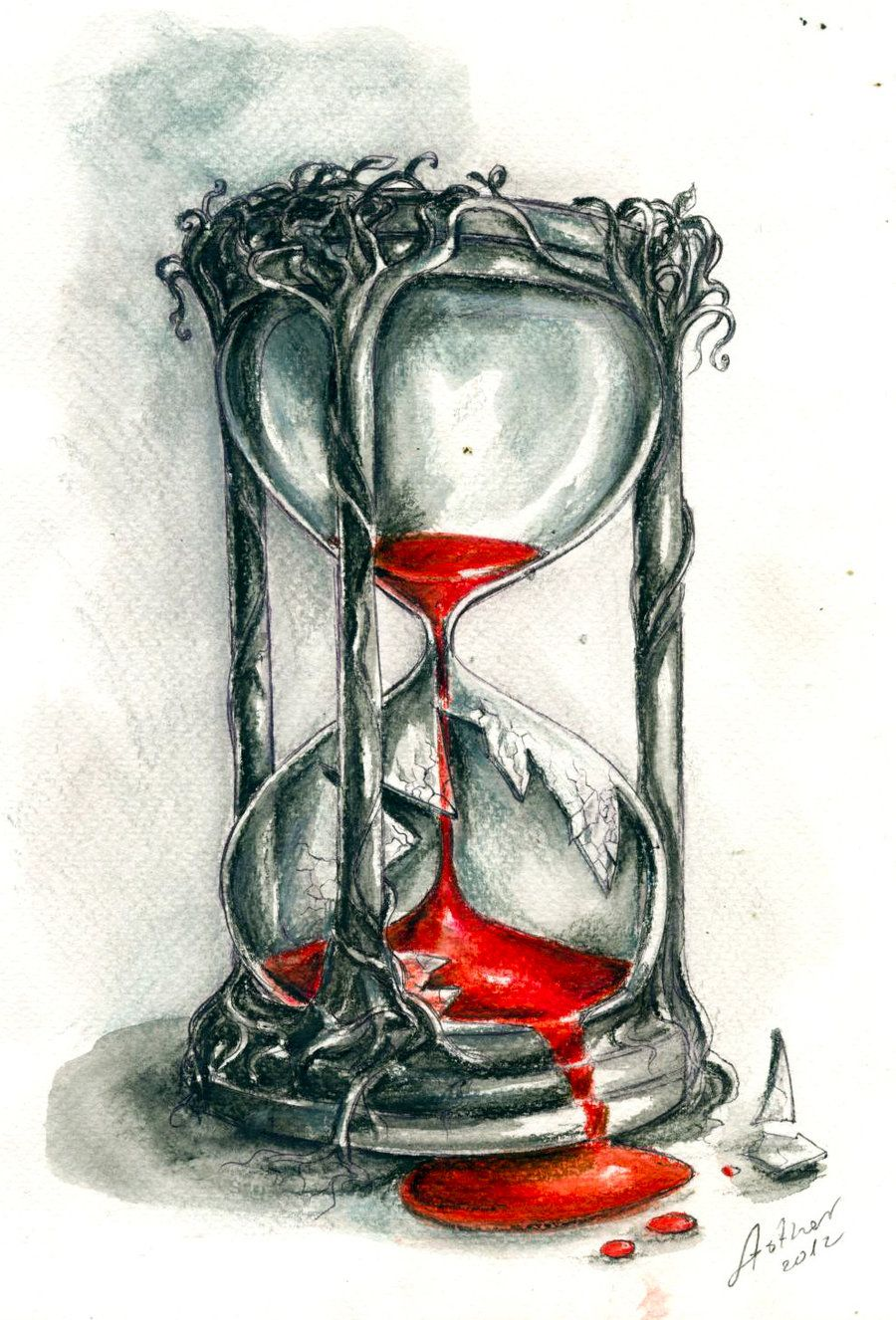 900x1326 Hourglass By On @ Tattoos