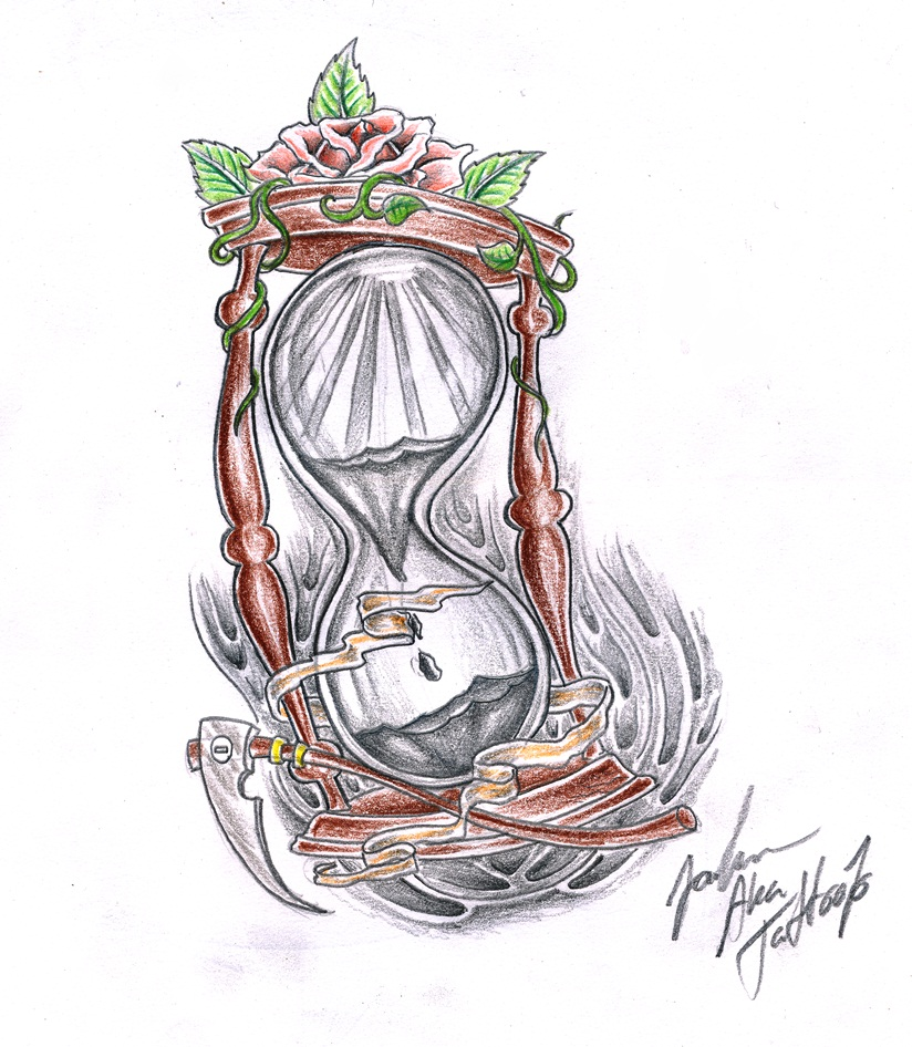 824x946 Hourglass By Jovictory On Hourglass Tattoo Drawings