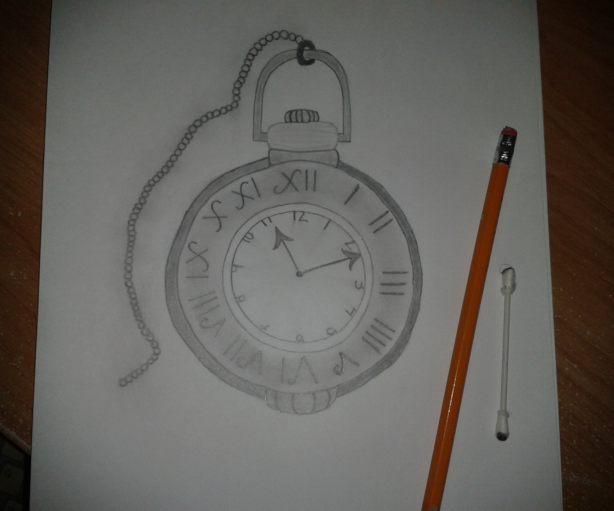 2100x1750 How To Draw A Pocket Watch 3 Steps (With Pictures)