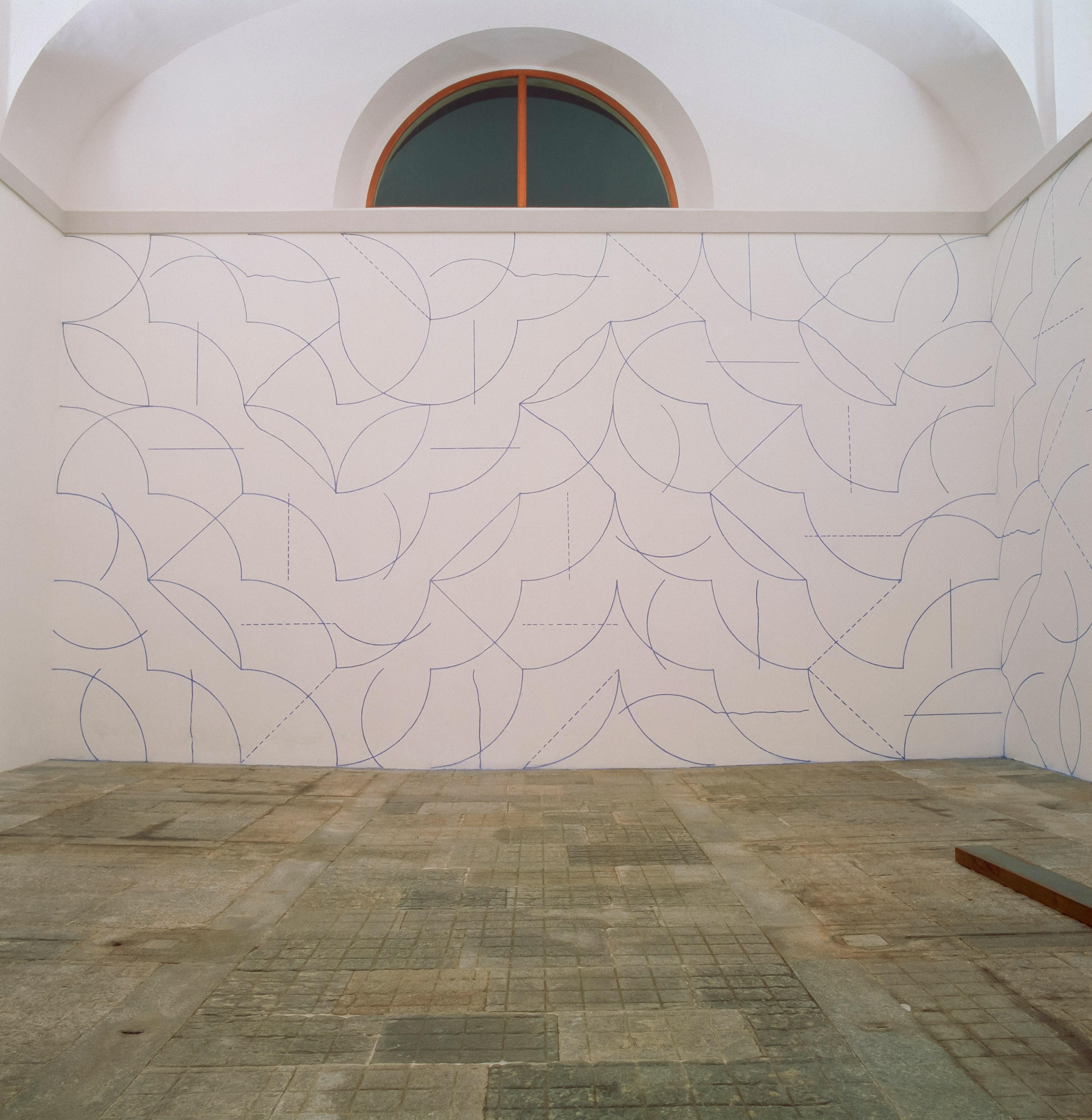 3757x3853 Wall Drawing