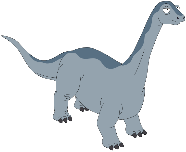 Line Drawing Wiki : Brontosaurus drawing at getdrawings free for personal use