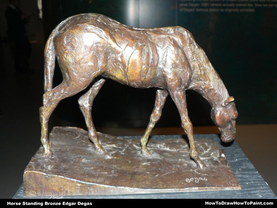 901x677 Drawing Inspiration Horse Bronze Edgar Degas Horse Standing
