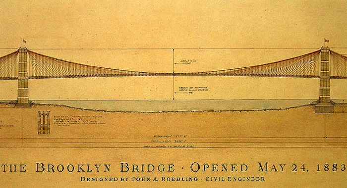 Brooklyn bridge architectural drawing at getdrawings free for 700x380 the right to design alexa roman malvernweather Images