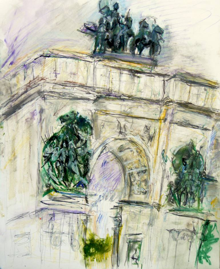 770x942 Saatchi Art Grand Army Plaza Arch