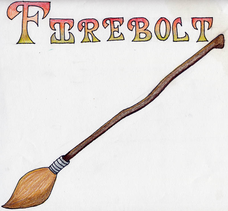 800x739 Firebolt Broomstick By Jediprincess