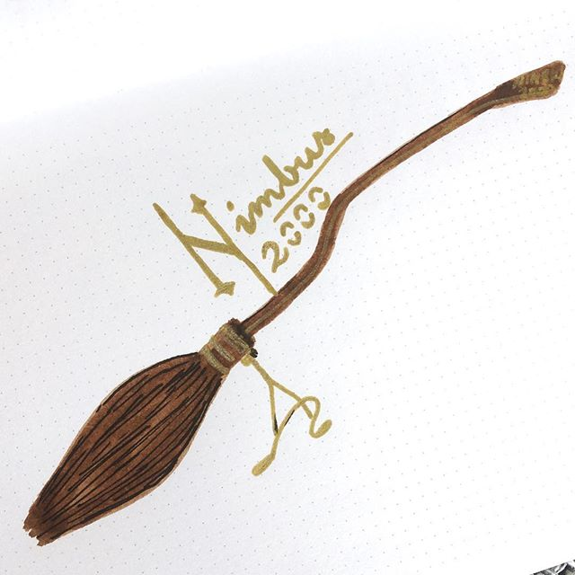 640x640 Nimbus 2000 2001 Broomstick Drawing Harry Potter Quidditch