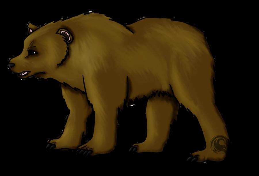 900x611 Brown Bear. By Little Power
