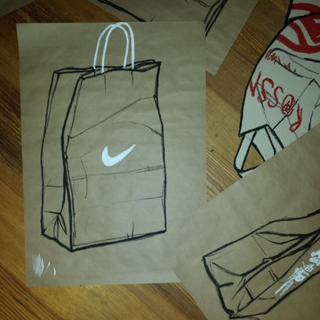 Well-known Brown Paper Bag Drawing at GetDrawings.com | Free for personal use  HS88