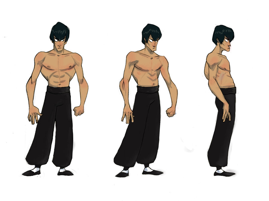 900x674 Bruce Lee Turnaround By Mrsayonara