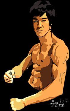 236x372 Bruce Lee Art Bruce Lee The Legend Bruce Lee, Art