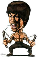 161x245 Character Drawings Of Famous People Cartoon Caricature Of Bruce