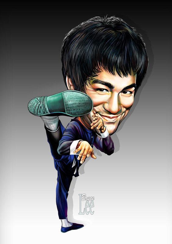 564x800 Bruce Lee (Romeo Raileanu)