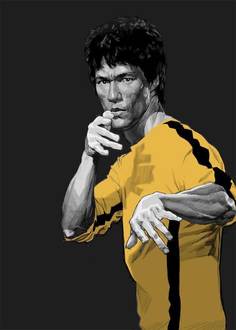 757x1056 Bruce Lee 16 By Kse332