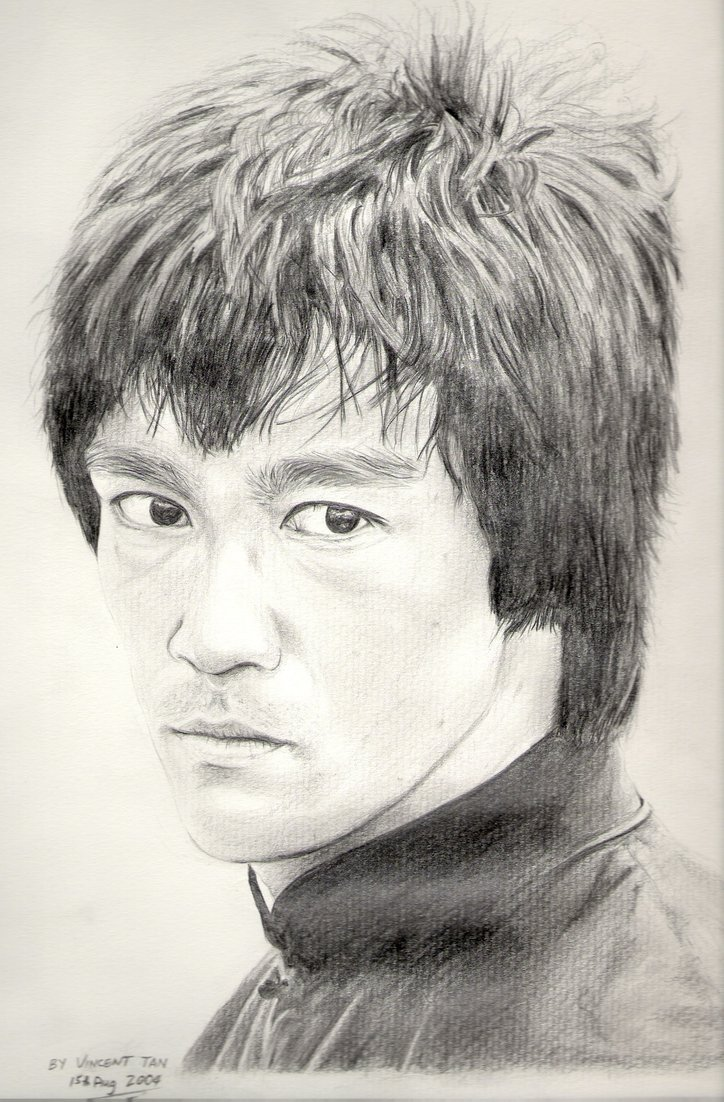 724x1102 Bruce Lee Enter The Dragon By Vinny2005