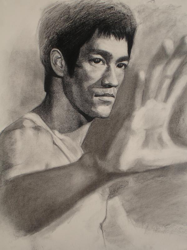 600x800 Bruce Lee By Artoftu