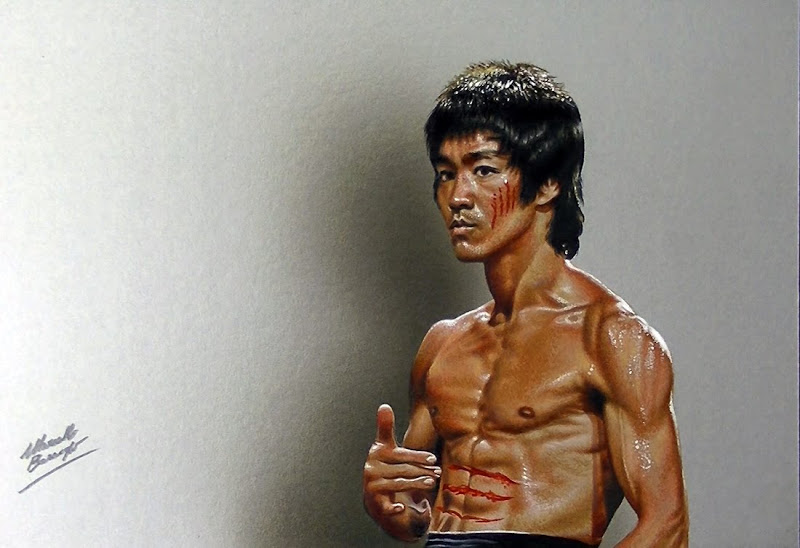 800x548 Drawing Bruce Lee