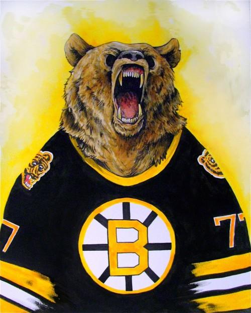500x624 Boston Bruins Drawings Endicott Designs