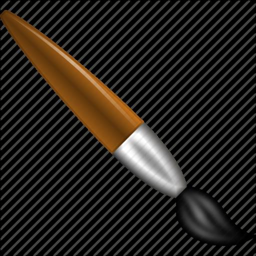 512x512 Decoration, Draw, Drawing, Paint, Paintbrush, Painting Brush, Tool