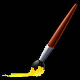 256x256 Paint Bursh Icon