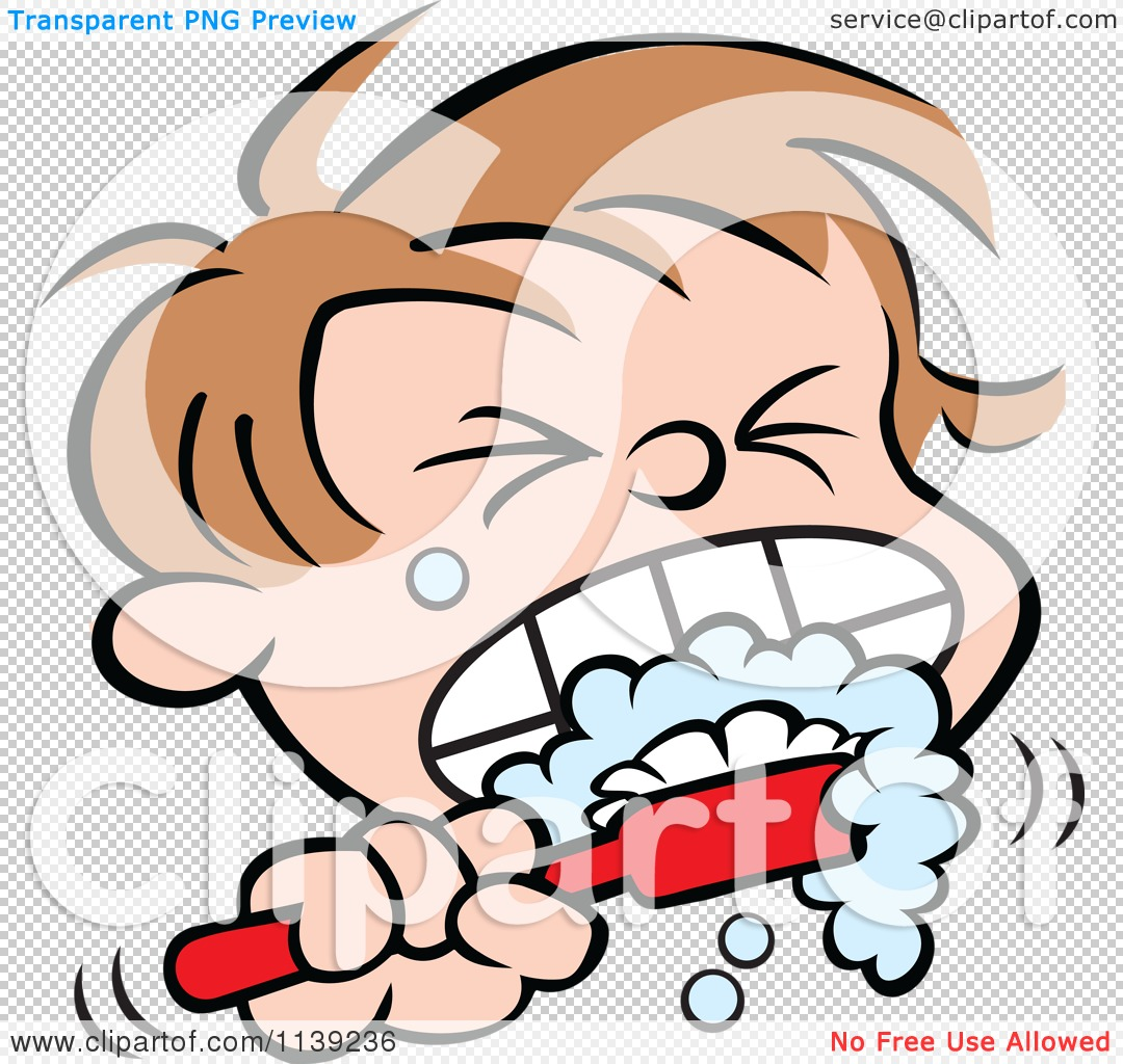 1080x1024 Boy Brushing Teeth Clipart Collection