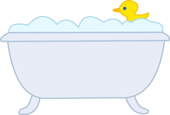 550x372 Bubble Bath With Rubber Ducky