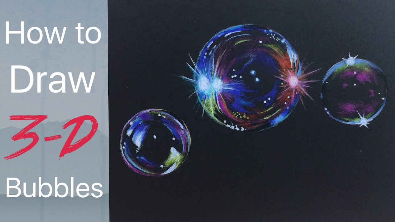 1280x720 Bubble Drawing Tutorial