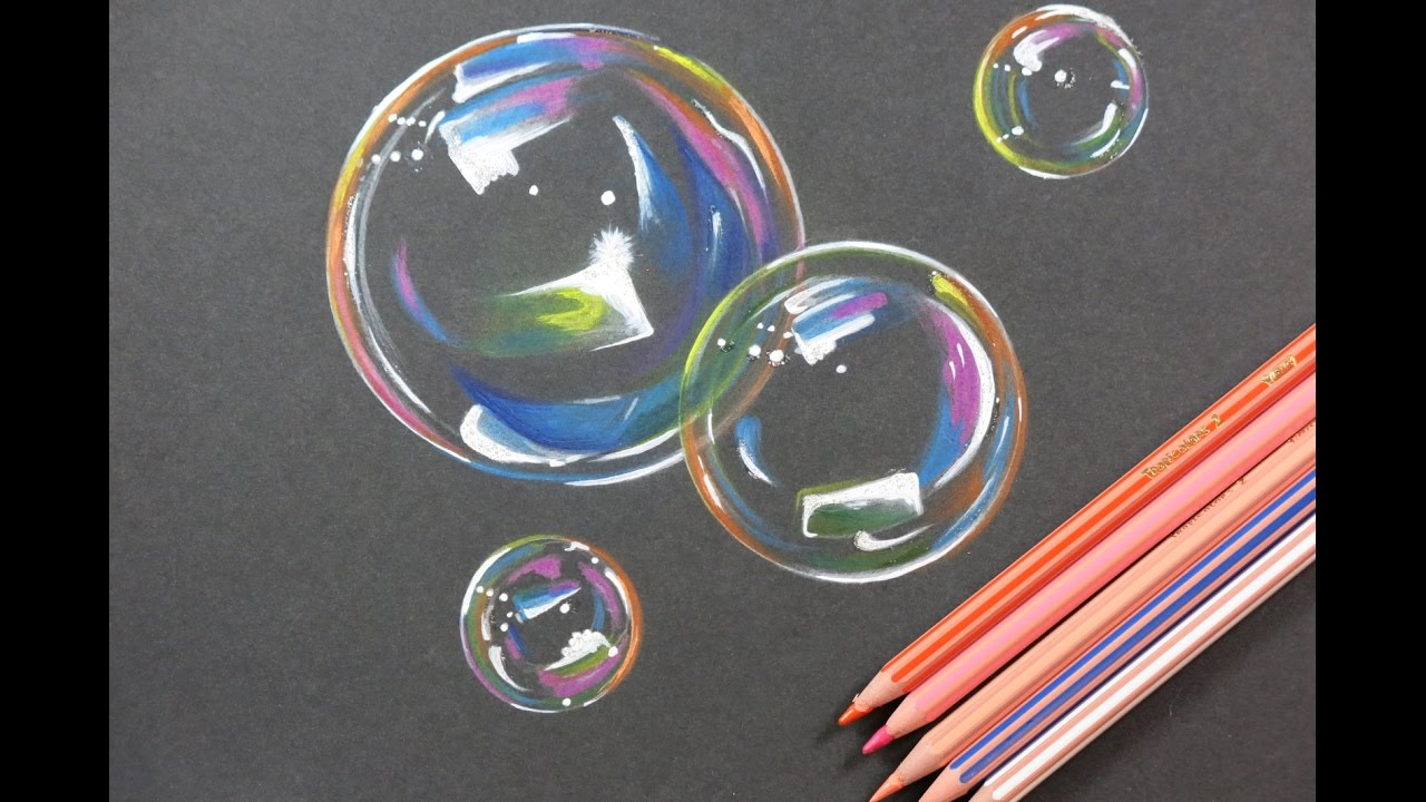 1280x720 Diy Amazing Bubbles Drawing. How To Draw Bubbles.