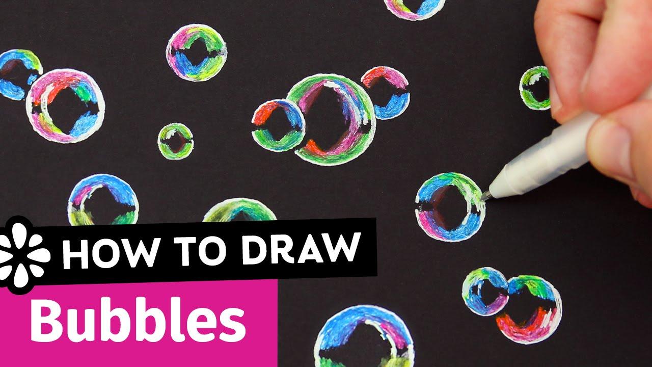 1280x720 How To Draw Bubbles Sea Lemon