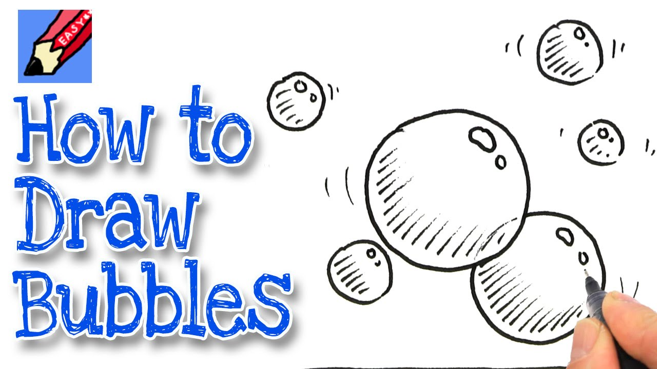 1280x720 How To Draw Bubbles Real Easy