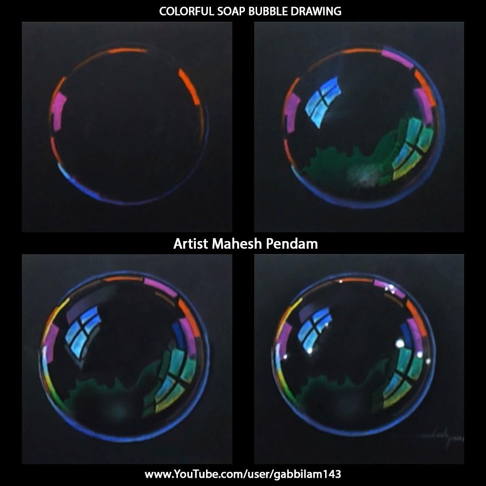 1000x1000 Mahesh Pendam Soap Bubble Drawing
