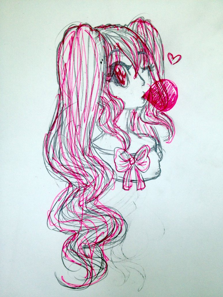 Bubble Gum Drawing at GetDrawings.com | Free for personal use Bubble ...