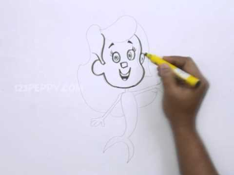 480x360 How To Draw A Molly Bubble Guppies
