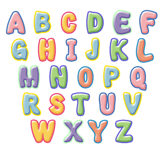 340x314 how to draw bubble letters with sample letters