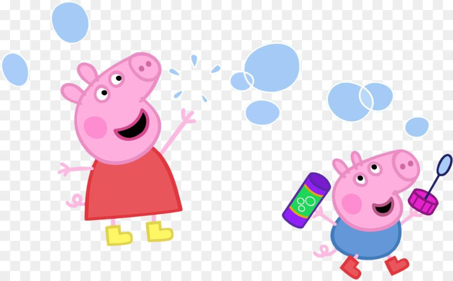 900x560 Daddy Pig Thomas Peppa Pig Bubbles Drawing