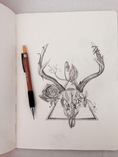 236x314 Deer Skull Tattoo Tattoos Deer Skull Tattoos, Deer