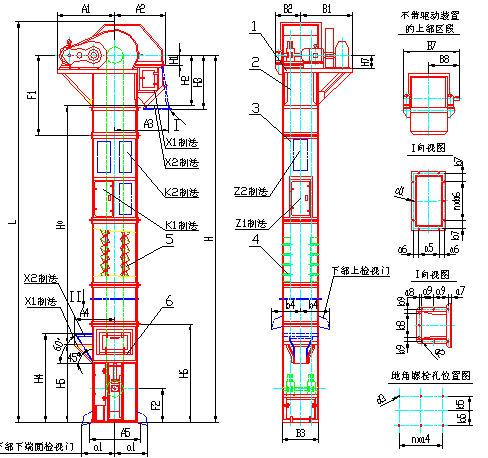 488x458 Mining Industrial Bucket Elevator Machine,belt Elevator Conveyor