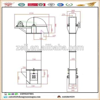 350x350 Rice Bucket Chain Conveyor Design Rice Mill Bucket Elevator