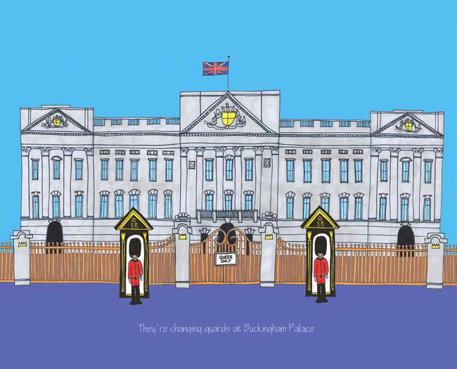 650x525 Buckingham Palace