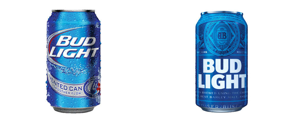Wonderful 1000x416 Brand New New Packaging For Bud Light By Jones Knowles Ritchie