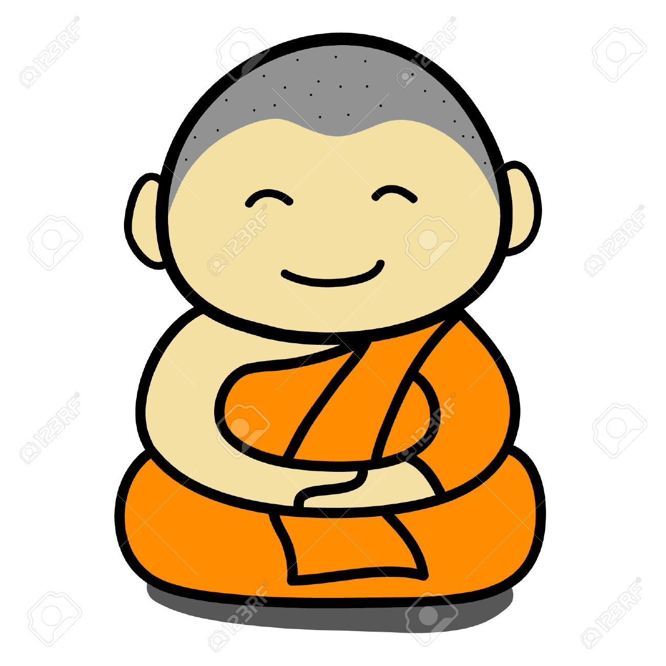 1300x1300 Buddha Cartoon Drawing How To Draw Buddha Easy, Stepstep, Faces