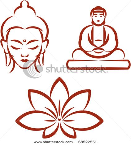 423x470 Buddha, Lotus To Draw Just For Fun Buddha Lotus