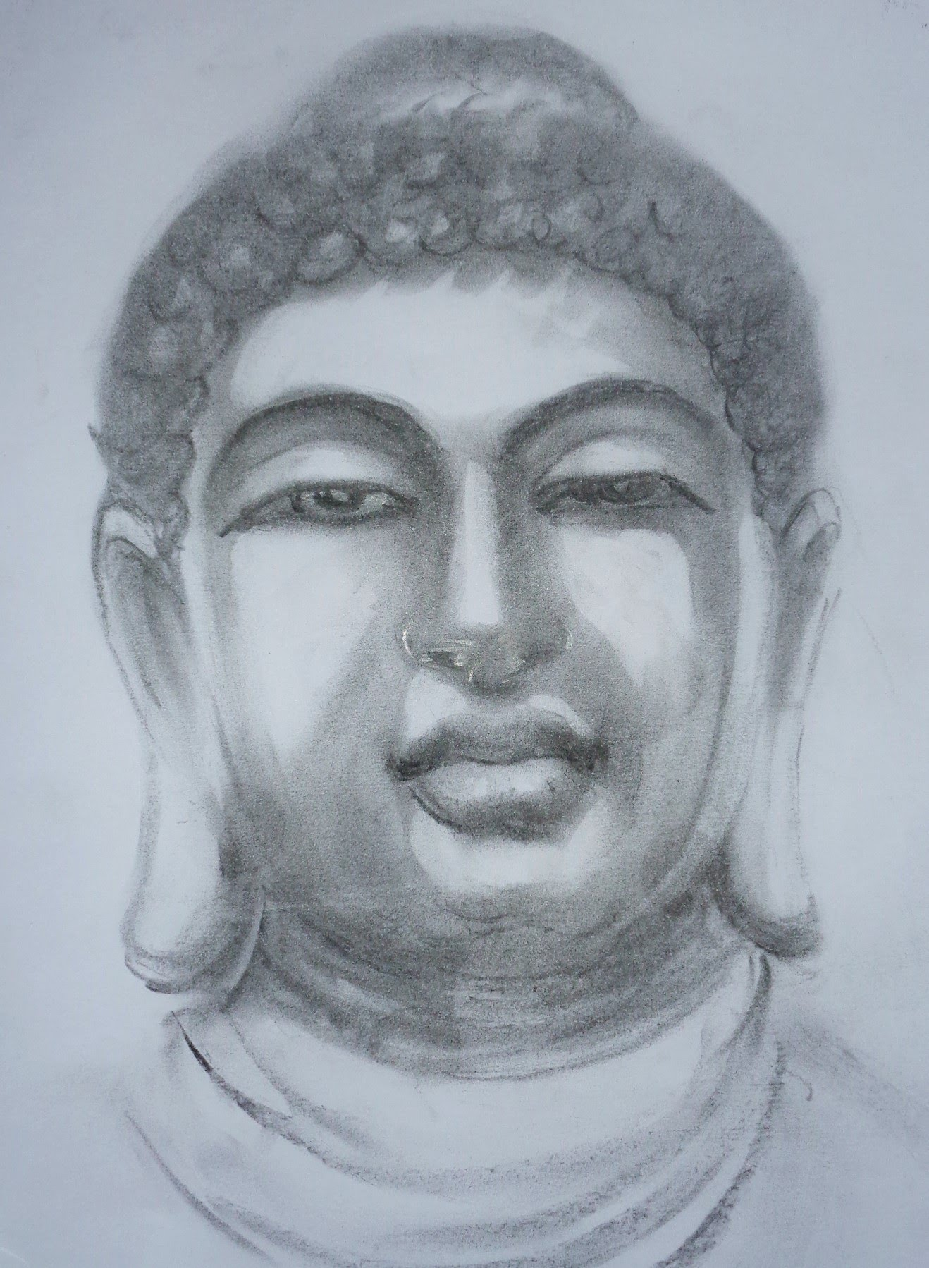 1318x1798 How To Draw Portrait Using Pencil